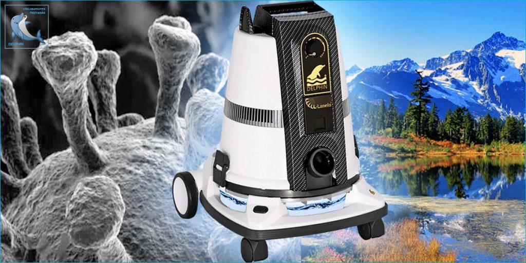 : DELPHIN DP S8 Fertőtlenítő és Tisztító Gép a VírusMentes Tisztaság Feltétele