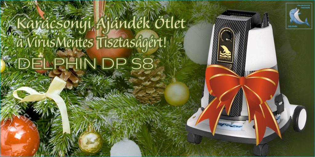 Karácsonyi Ajándék Ötlet 2020 - DELPHIN DP S8 Vírusmentesítő és Tisztító Gép